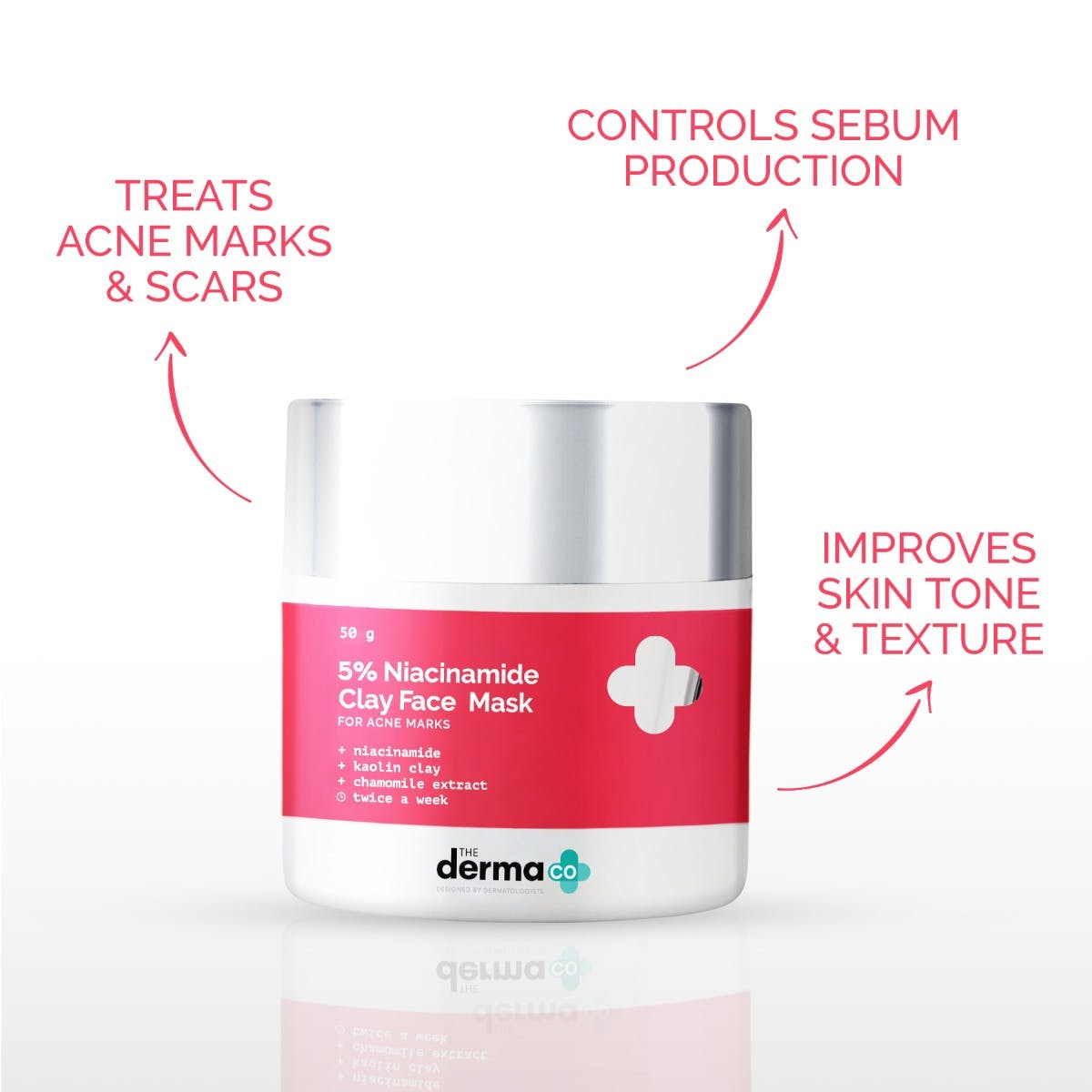 5% Niacinamide Clay Face Mask